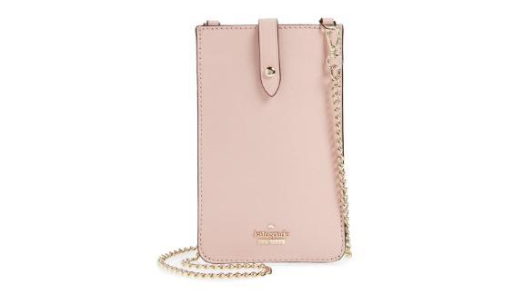 "<strong>Kate Spade leather iPhone Crossbody Bag ($100; </strong><a href=""https://click.linksynergy.com/deeplink?id=Fr/49/7rhGg&mid=1237&u1=0403mothersdaygiftsnordstrom&murl=https%3A%2F%2Fshop.nordstrom.com%2Fs%2Fkate-spade-new-york-leather-iphone-crossbody-bag%2F4903030"" target=""_blank"" target=""_blank""><strong>nordstrom.com</strong></a><strong>)</strong><br />"
