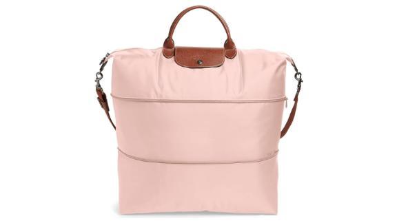 "<strong>Longchamp Le Pliage Expandable Travel Bag ($255; </strong><a href=""https://click.linksynergy.com/deeplink?id=Fr/49/7rhGg&mid=1237&u1=0403mothersdaygiftsnordstrom&murl=https%3A%2F%2Fshop.nordstrom.com%2Fs%2Flongchamp-le-pliage-21-inch-expandable-travel-bag%2F2980320"" target=""_blank"" target=""_blank""><strong>nordstrom.com</strong></a><strong>)</strong><br />"