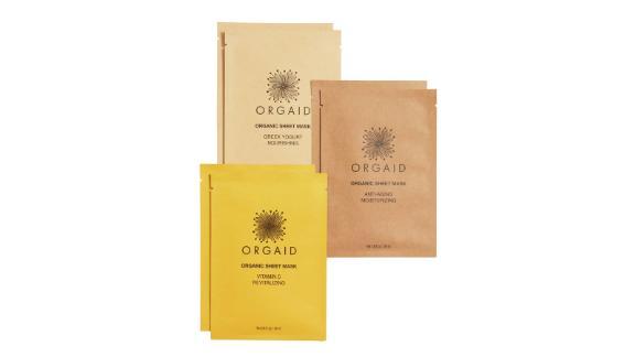 """<strong>Orgaid Organic Sheet Mask Set ($19.80; </strong><a href=""""https://click.linksynergy.com/deeplink?id=Fr/49/7rhGg&mid=1237&u1=0403mothersdaygiftsnordstrom&murl=https%3A%2F%2Fshop.nordstrom.com%2Fs%2Forgaid-organic-sheet-mask-set%2F5231816"""" target=""""_blank"""" target=""""_blank""""><strong>nordstrom.com</strong></a><strong>)</strong><br />"""