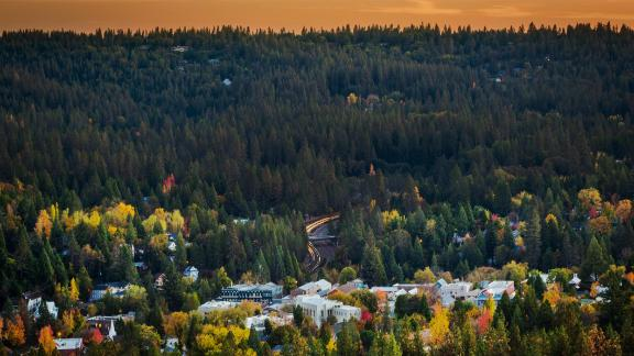 Nevada City sits in a beautiful -- but flammable -- landscape.