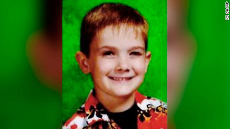 This undated photo provided by the Aurora, Ill., Police Department shows missing child, Timmothy Pitzen. Police in the Chicago suburb of Aurora say the department is sending two detectives to the Cincinnati area to investigate a missing child report that could involve the Aurora boy who disappeared in 2011. Aurora Police Sgt. Bill Rowley said Wednesday, April 3, 2019 that the department knows there is a boy involved but they don't know who he is or if he has any connection to the Timmothy Pitzen case. (Aurora Police Department via AP)
