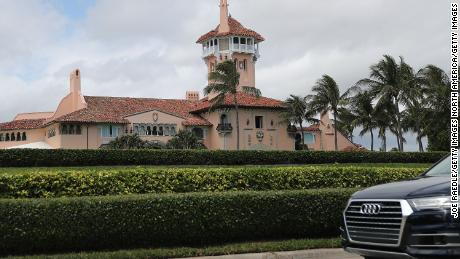 President Donald Trump's Mar-a-Lago resort  in West Palm Beach, Florida, is seen in this file photo from April, 2019.