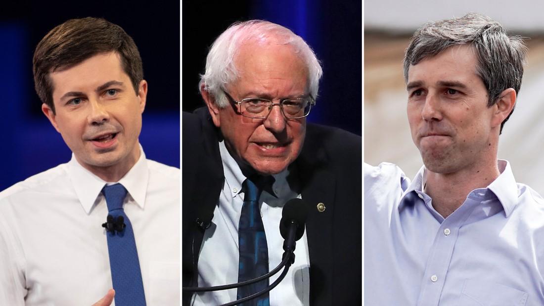 Buttigieg, Sanders and Beto