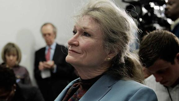 Alice Hoagland at a congressional hearing in 2014.
