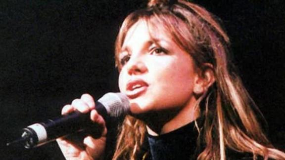 Spears' first concert tour kicked off in November 1998, a couple of months before her first studio album was released. She signed a contract with Jive Records in 1997. She was 15 at the time.