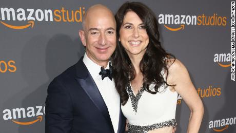 Jeff and MacKenzie Bezos completed their marriage earlier this year.