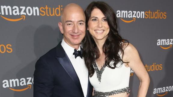 Jeff and MacKenzie Bezos ended their marriage earlier this year.