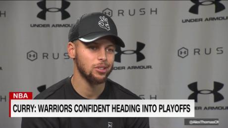 Steph Curry: Golden State Warriors confident heading into playoffs