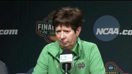 Muffet McGraw: 'We don't have enough women in power,' says Notre Dame head coach