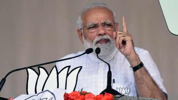 Indian Prime Minister Narendra Modi came to power in 2014 promising an economic revival and millions of new jobs.