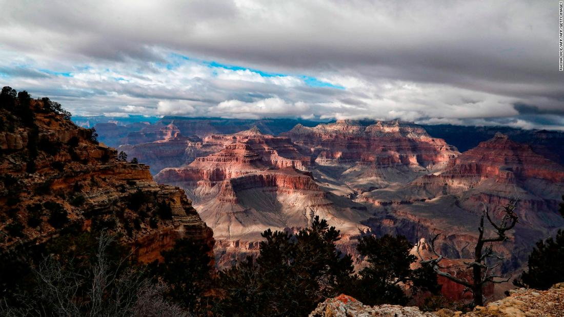 A 70-year-old woman fell to her death at the Grand Canyon National Park