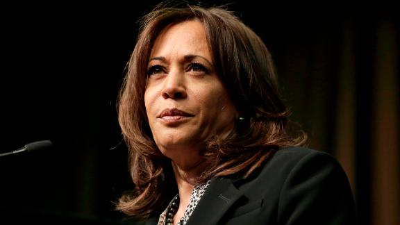 U.S. Sen. Kamala Harris, D-Calif., a candidate for the 2020 Democratic presidential nomination, addresses the National Action Network Convention in New York, Friday, April 5, 2019. (AP/Seth Wenig)