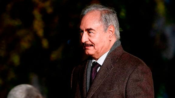 Field Marshal Khalifa Haftar is leading a military advance towards Tripoli.