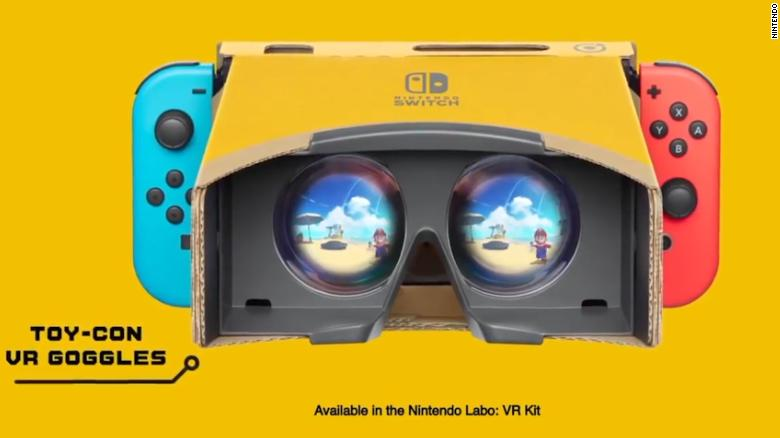 Nintendo announces 'Mario' and 'Zelda' in virtual reality