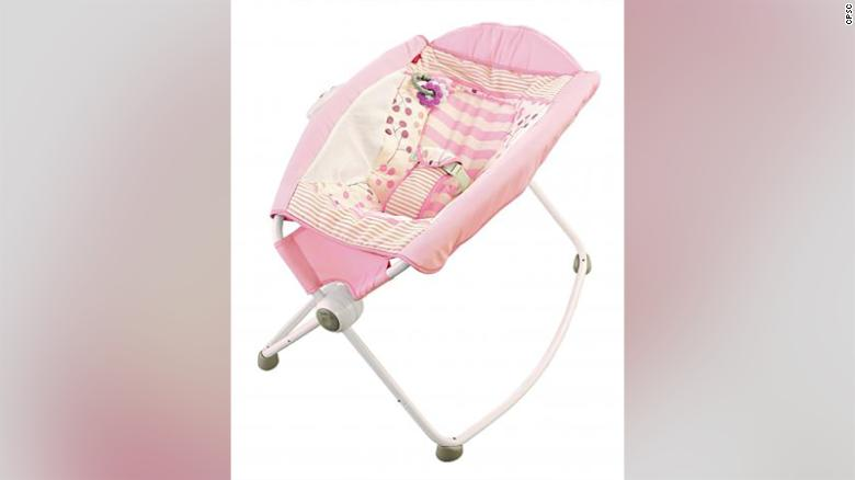 This baby rocker is being linked to 32 infant deaths