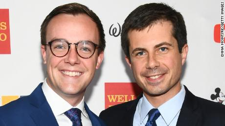 Pete Buttigieg's not-so-secret weapon is his husband, Chasten