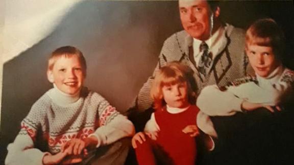 Michaela's family photo.