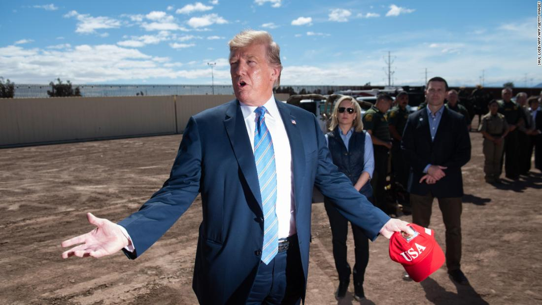 Washington Post: Trump 'aggressively' pushing for GOP donor's company to get border wall contract