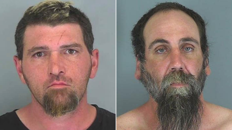Jonathan Patterson Galligan, left, and Christian Daniel Hurlburt face murder charges in the deaths of Christin Bunner and Melissa Rhymer.