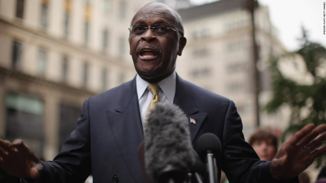Herman Cain dies from coronavirus – CNN