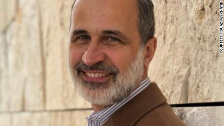 Mouaz al-Khatib, founding president of the Syrian National Coalition