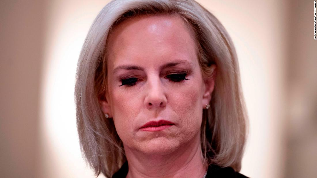 Kirstjen Nielsen says she left DHS because 'saying no' wasn't enough