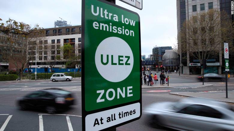 London gets world's first 24-hour air pollution charge zone