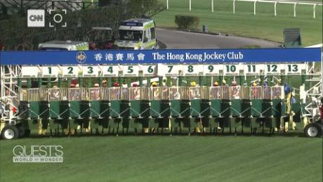 If it's Wednesday in Hong Kong, it's a safe bet that it's a night at the races