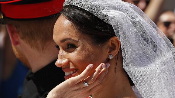 Meghan may have to declare valuable gifts such as her wedding and engagement rings.