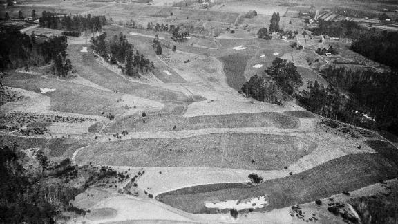 Augusta National was created by Scottish golf course architect Dr. Alister Mackenzie and co-founder Bobby Jones and opened in 1933 on land that was once the site of Fruitlands Nursery. During World War II the land was briefly given over to turkey and cattle farming.