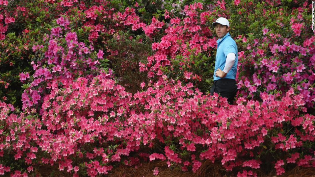 Rory McIlroy just needs the Masters to complete the Grand Slam of all four of golf's major titles. The Northern Irishman blew a four-shot lead at Augusta in 2011, but having won four majors in the meantime returns for his fifth shot at the Grand Slam this week. Only five others have achieved the feat -- Gene Sarazen, Ben Hogan, Gary Player, Jack Nicklaus and Tiger Woods. G is also for <strong>greens</strong> -- the slick, sloping putting surfaces are infamous.