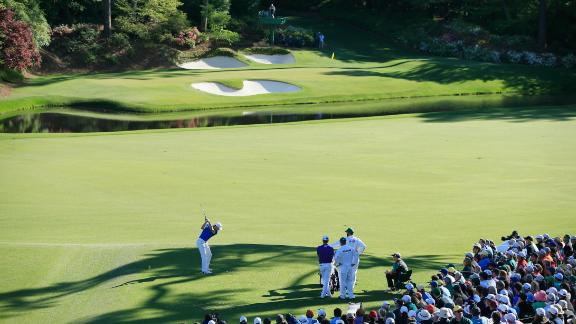 Perhaps the most famous short hole in golf, the par-3 12th sits at the heart of Amen Corner. Like a wolf in sheep