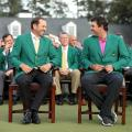Masters photos A-Z Sergio Garcia Patrick Reed green jacket