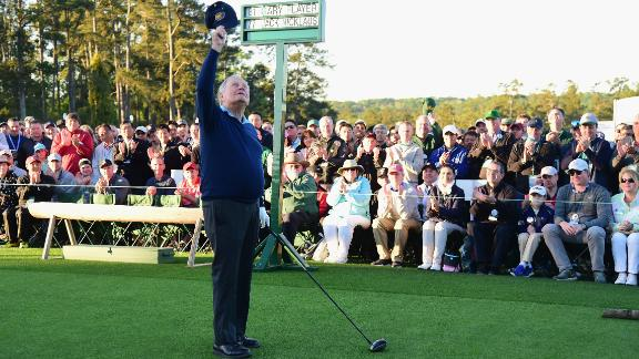 The most successful player at the Masters is Jack Nicklaus, whose six Green Jackets remains the record. The 80-year-old is now an honorary starter along with Gary Player, following the death of four-time champion Arnold Palmer in 2016.