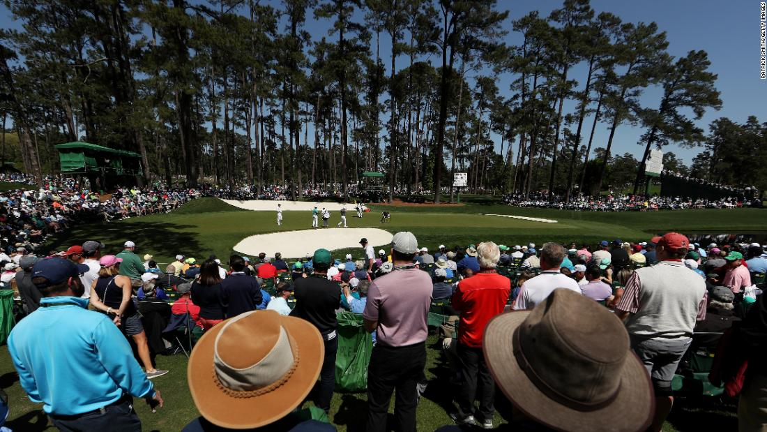 Visitors to Augusta National are known as patrons -- not fans or spectators or the crowd. Tickets are like gold dust, but a limited number of practice round tickets and tournament days are available through a yearly ballot. The waiting list for weekly tournament badges closed years ago.