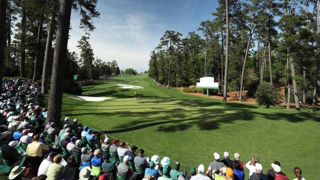 Augusta's vistas are consistently spell-binding with the pines framing the holes and the lush grass, ice white of the bunkers and explosions of color from the flowers and patrons adding to the allure.