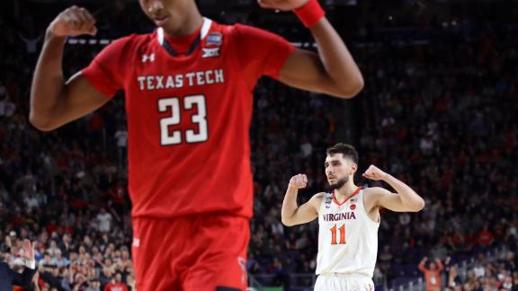 Jerome and Culver flex during the second half. Jerome finished with 16 points, nine assists and seven rebounds. Culver, the Big 12 Player of the Year, had 15 points and 10 rebounds.