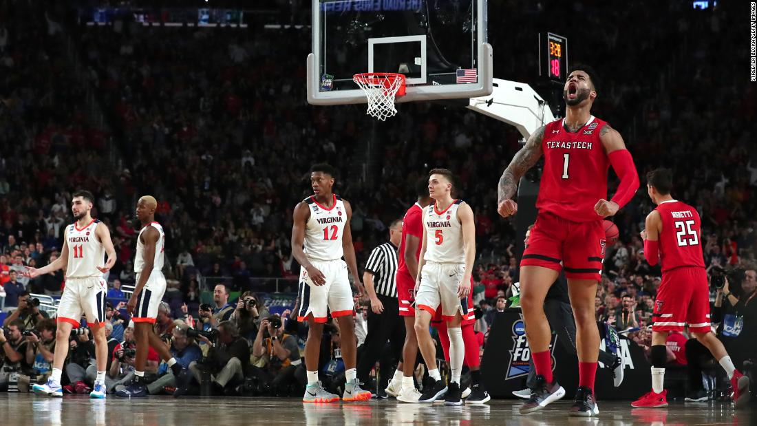 Texas Tech's Brandone Francis celebrates a second-half play. Francis came off the bench to score 17 points for the Red Raiders.