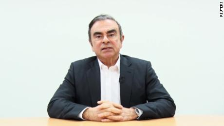 Carlos Ghosn confesses his innocence in a new video.