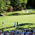 Masters photos A-z Augusta 12th Rory McIlroy card