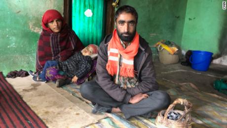 Babur Ali and his wife say they have become refugees in their own country.