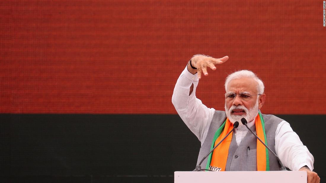 Modi declares victory in India elections as opposition concedes