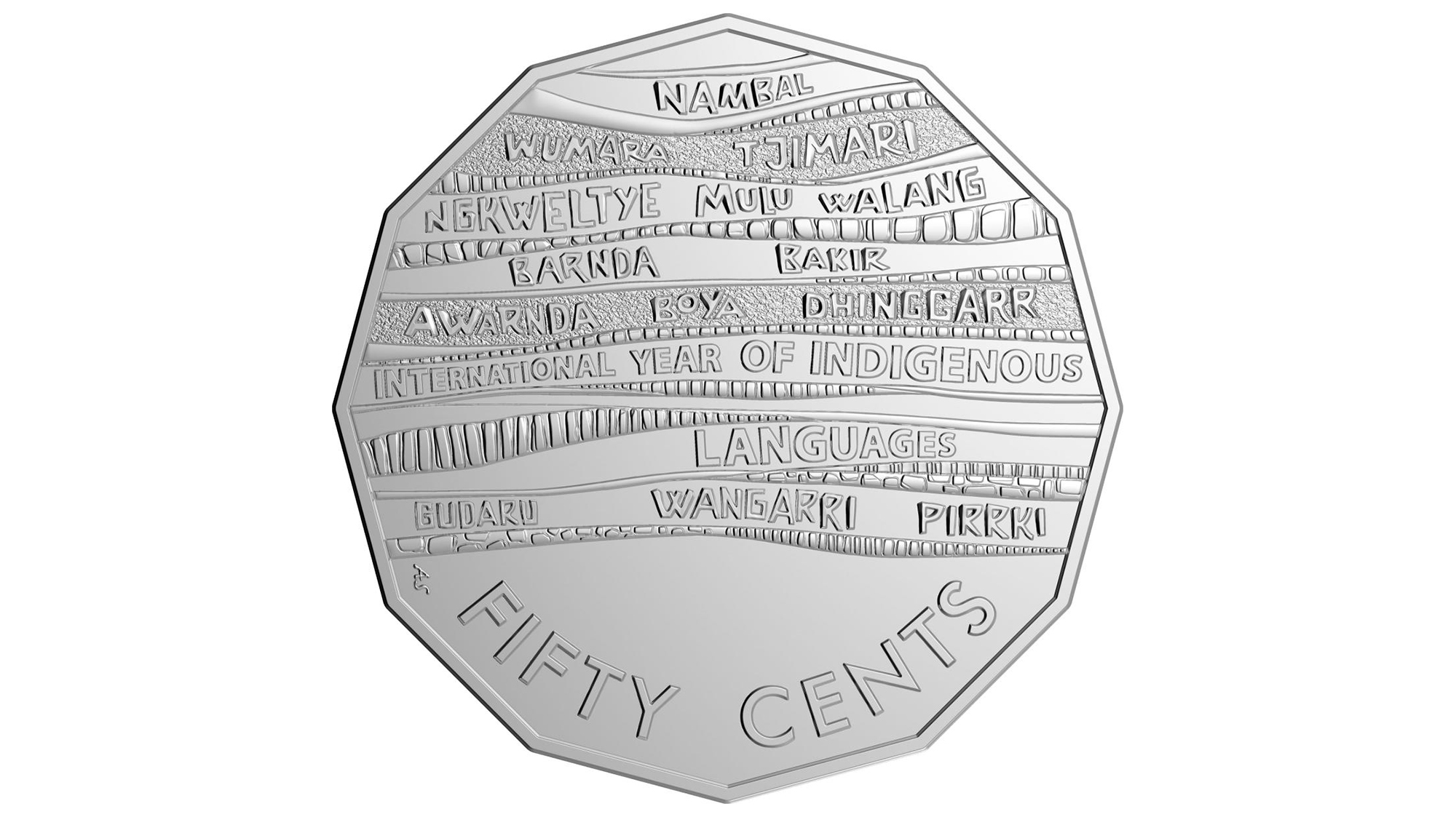 New Australian 50 Cent Coin Features 14 Indigenous Languages Cnn