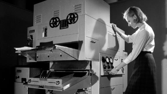 The first Xerox photocopiers came to market in the 1950s.