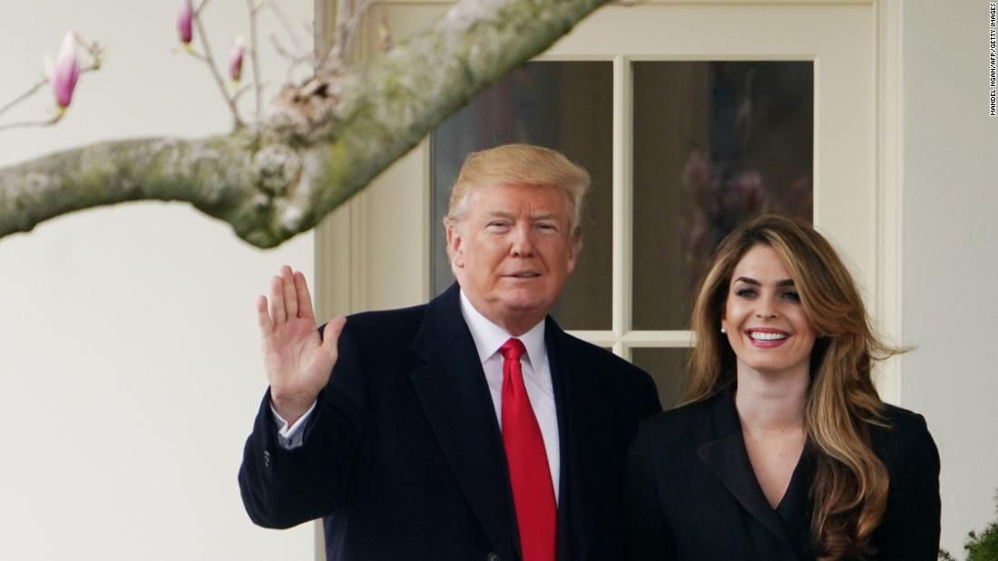 Trump campaign and RNC spend more than $600,000 on law firm representing Hope Hicks