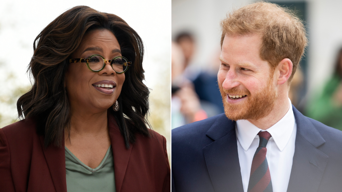 Oprah Winfrey and Prince Harry have collaborated on a new TV series tackling the issue of mental health.