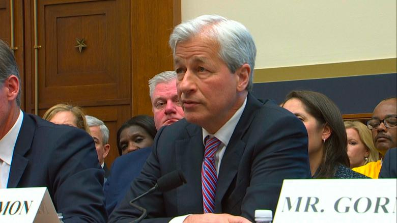 Rep  Velázquez and JPMorgan's Dimon spar over income inequality