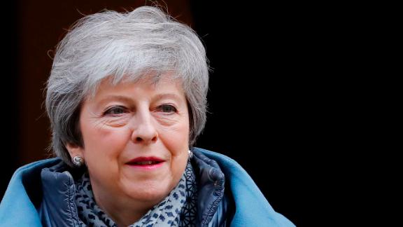Britain's Prime Minister Theresa May leaves 10 Downing Street in London on April 10, 2019 ahead of the weekly Prime Minister's Questions (PMQs) question and answer session in the House of Commons. - The EU's chief Brexit negotiator said Tuesday that the length of any delay to the divorce that the bloc may grant Britain will depend on what plan Prime Minister Theresa May brings to a crunch summit. (Photo by Tolga AKMEN / AFP)        (Photo credit should read TOLGA AKMEN/AFP/Getty Images)