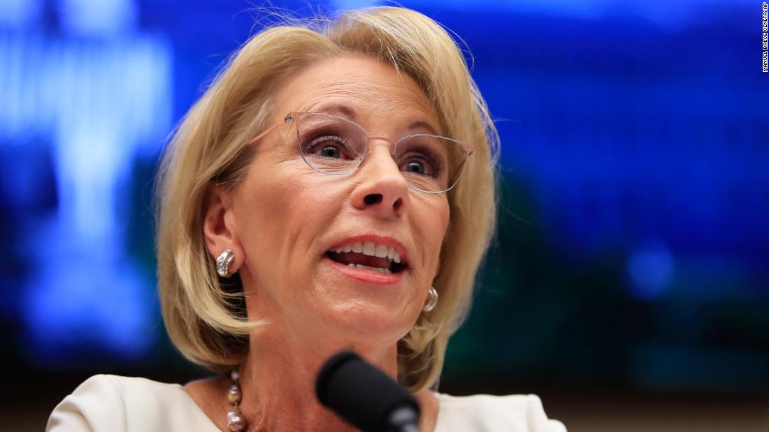 High school journalists take on Betsy DeVos in editorial after being barred from event