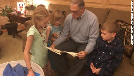 Even in children's books, Jay Inslee takes on climate change